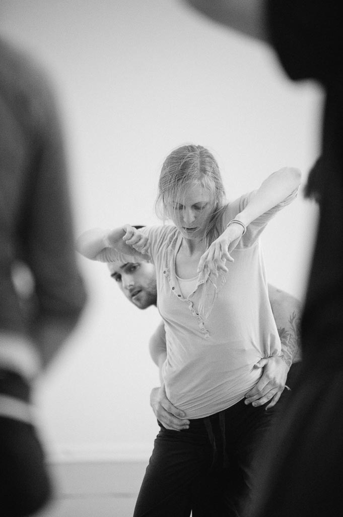 Lindsey McGill and Franco Nieto rehearse Sarah Slipper's 'Airys'