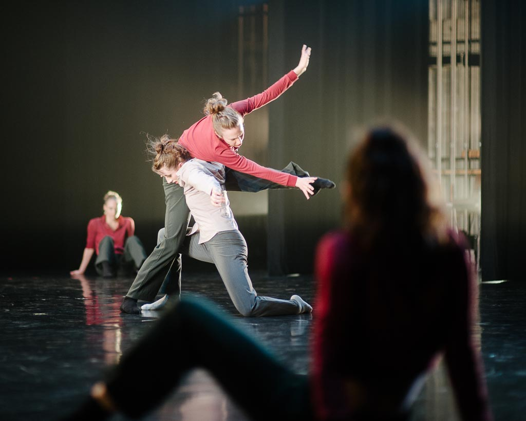 Artists of Northwest Dance Project perform Patrick Delcroix's 'Harmonie Defiguree'