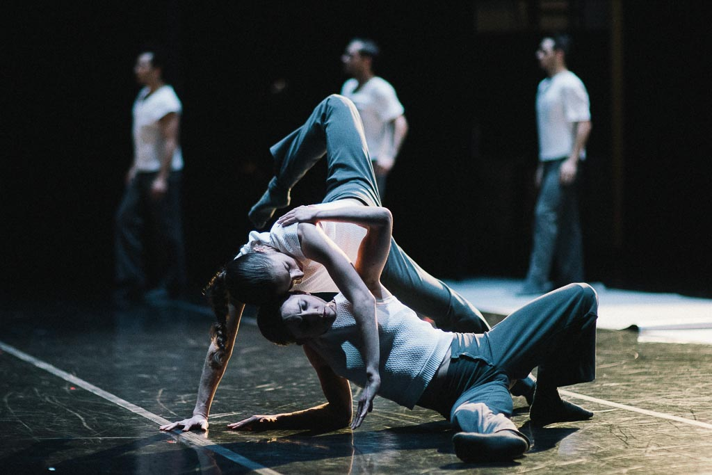 Artists of Northwest Dance Project rehearse Ihsan Rustem's 'Yidam'