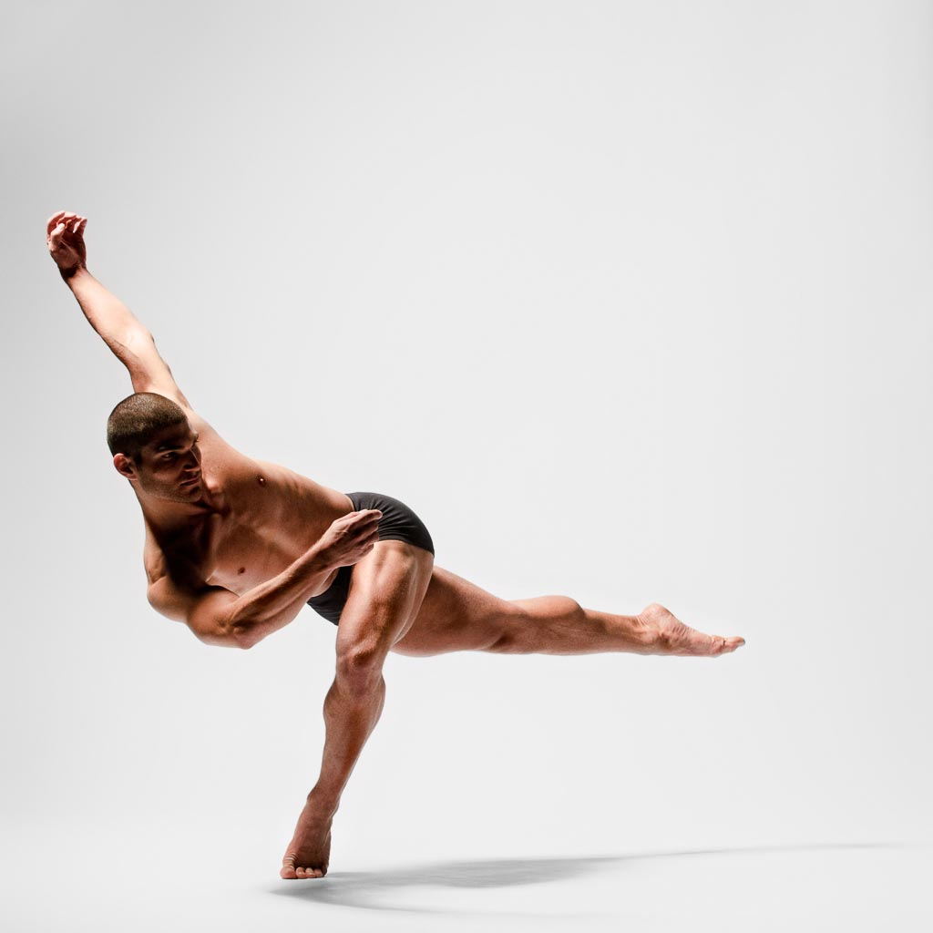 Christian Denice of BodyTraffic (formerly Ballet Jazz Montreal), November 2011