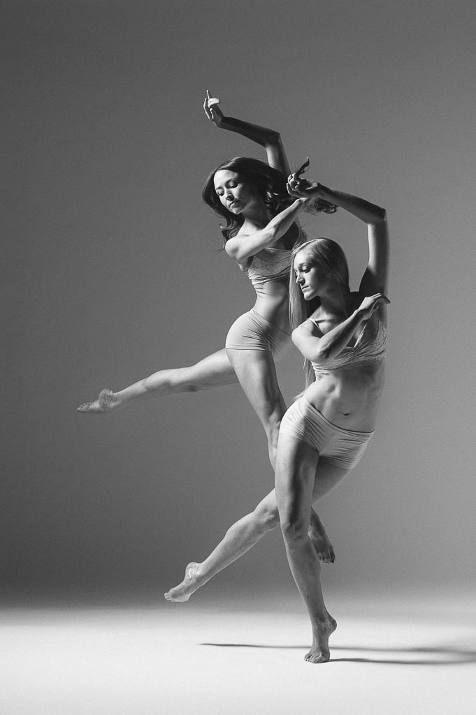 Dayna Marshall and Molly Davenport of Odyssey Dance Theatre