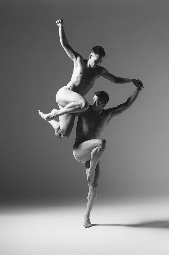 Eldon Johnson and Chase Wise of Odyssey Dance Theatre