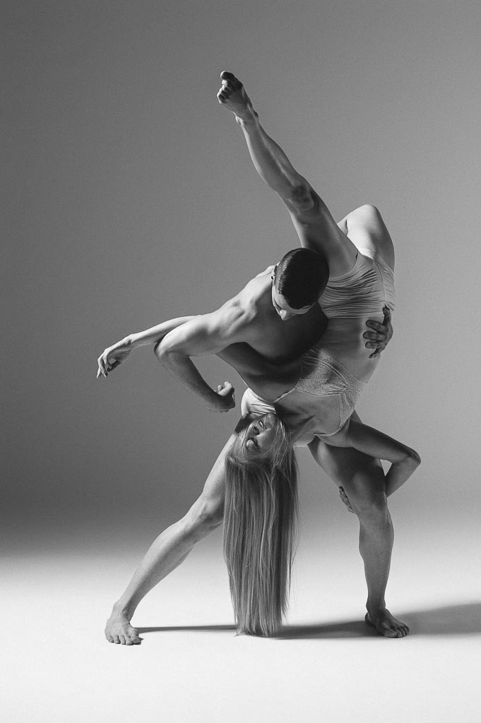 Eldon Johnson and Molly Davenport of Odyssey Dance Theatre