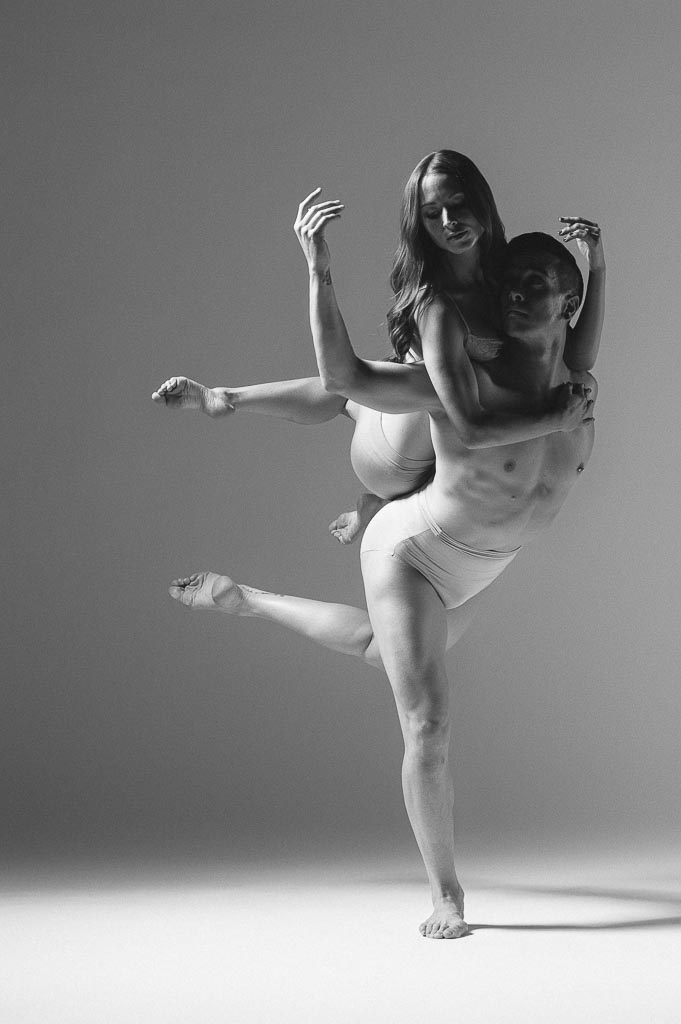 Eldon Jonnson and Dayna Marshall of Odyssey Dance Theatre